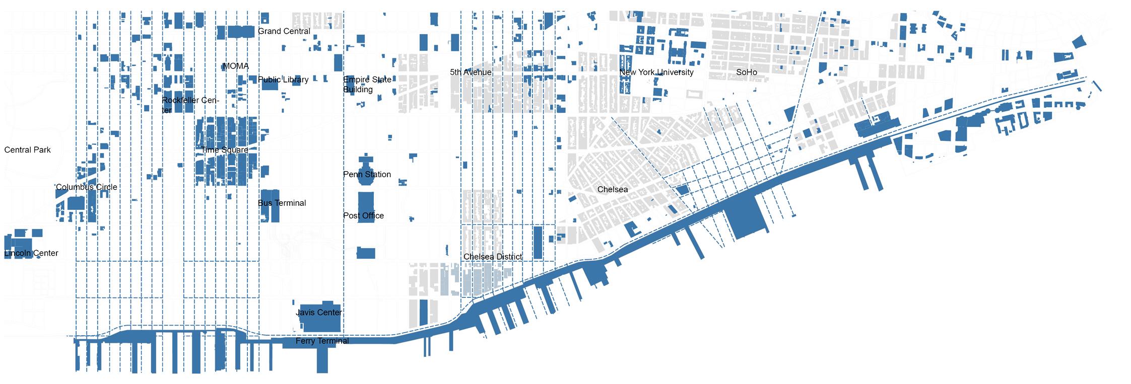 曼哈顿滨河空间改造规划